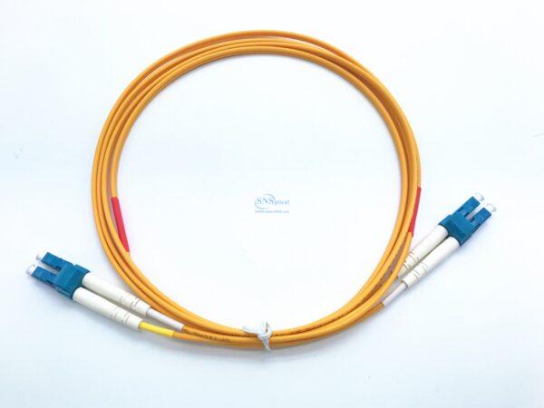 1.LC UPC LC UPC duplex sm patch cord 1 3