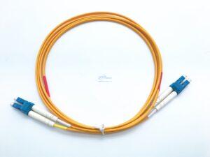 1.LC UPC LC UPC duplex sm patch cord 1 7