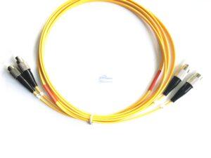11.FC UPC FC UPC duplex single mode patch cord 1 4