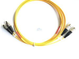 11.FC UPC FC UPC duplex single mode patch cord 1 5