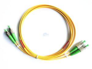 12.FC APC FC APC duplex single mode patch cord 1 4