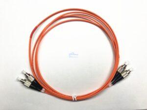 13.FC UPC FC UPC duplex OM2 Multi mode patch cord 1