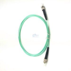 18 st upc st upc simplex OM3 patch cord 1 12