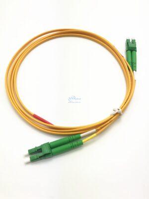 2.LC APC LC APC duplex sm patch cord 1 4