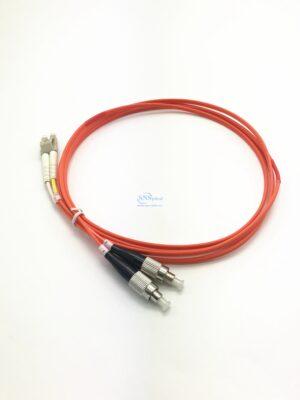 26.LC UPC FC UPC duplex OM2 mm patch cord 1 3