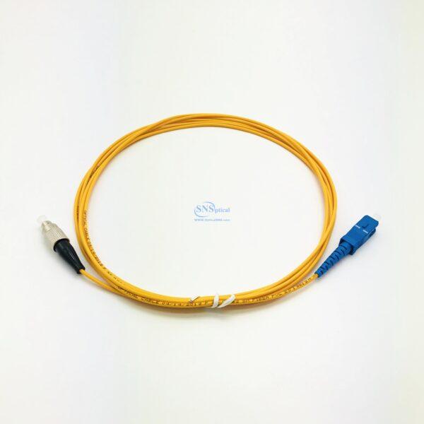 40 sc upc fc upc simplex sm patch cord 1 7