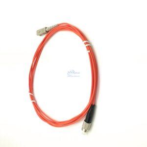 46 sc upc fc upc simplex OM2 patch cord 1 2