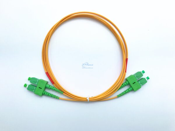 7.SC APC SC APC duplex sm patch cord 1 8