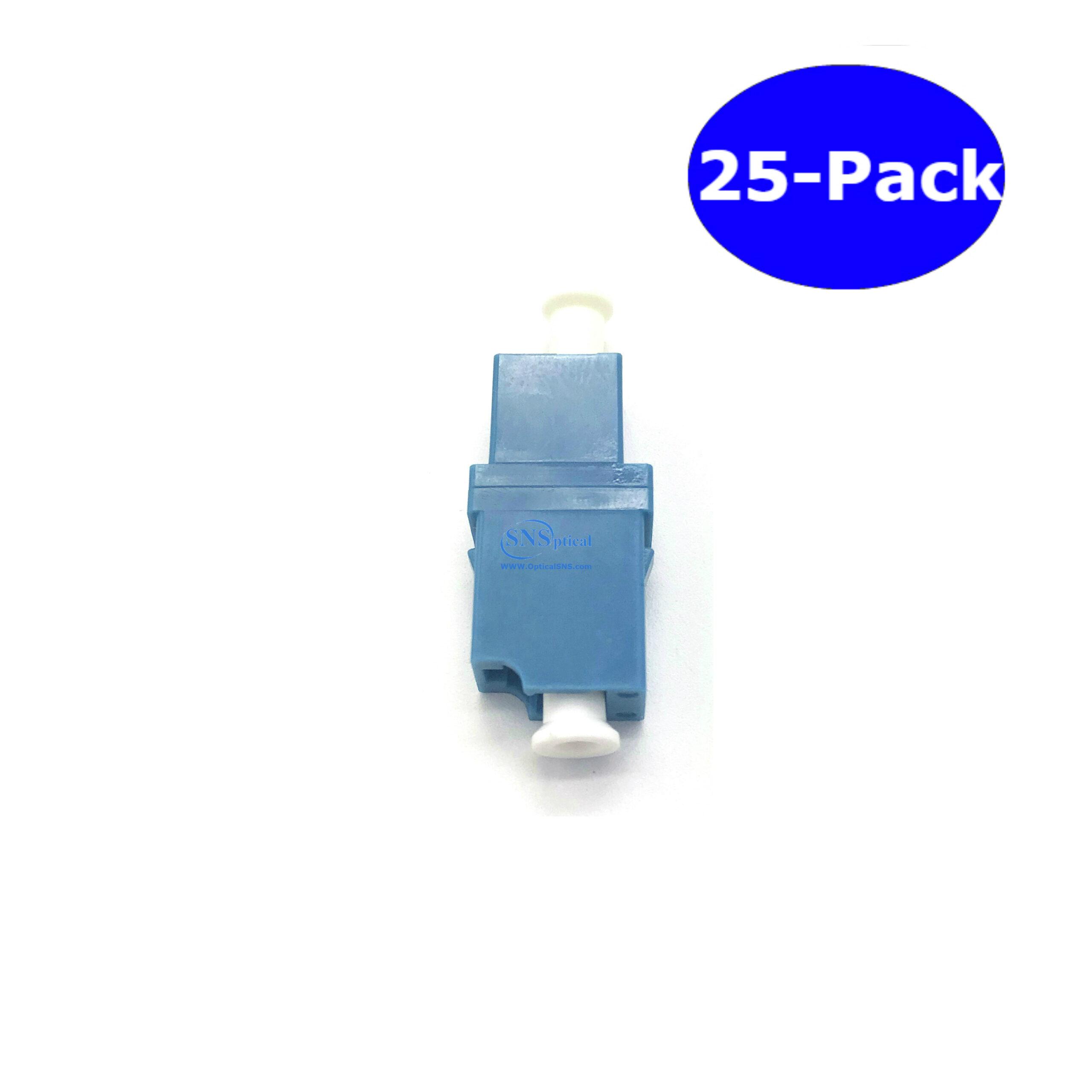 SNS Fiber Optic LC to LC/APC Simplex Single Mode Adapter 1-Pack ...
