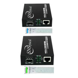 2xSFP BIDI to RJ45 1 1